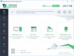 Loaris Trojan Remover Full Scan