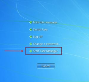 Windows 7 - Task Manager
