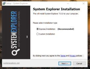 SystemExplorerSetup.exe Run