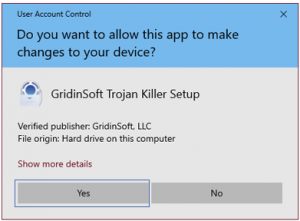Trojan Killer - Click on YES