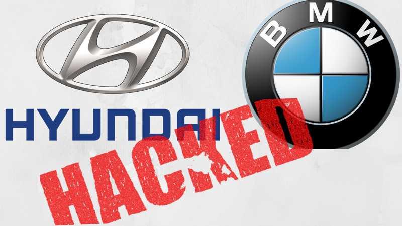BMW and Hyundai hacked