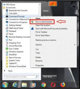 cmd Windows 7