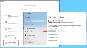 Installing Windows Updates