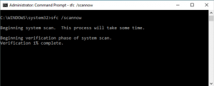 sfc/scannow - system scan Repair Kernel Security Check Failure